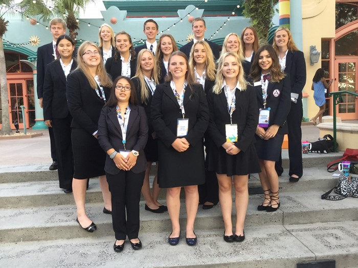 HOSA ILC Group Picture