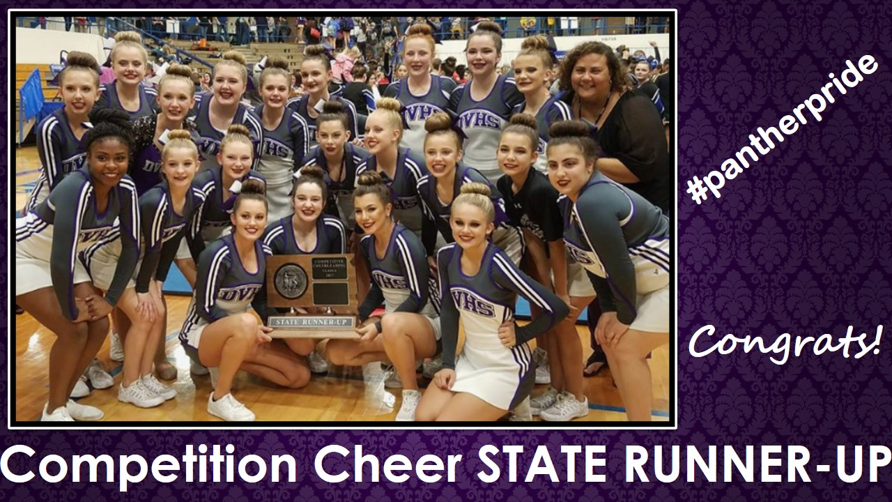 State Competitive Cheer Results
